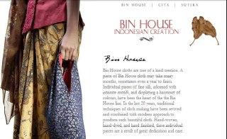 bin house batik